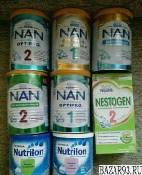 Наны1 и 2 Продажа/обмен на Нутрилон