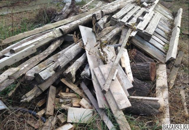 Брус б/у на дрова