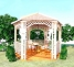 Беседка садовая уютная диаметр 2, 5м